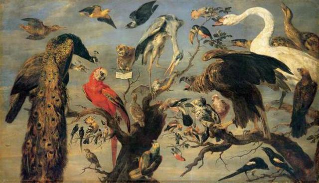 Птичий концерт, Франс Снейдерс
