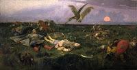 «После побоища Игоря Святославича с половцами», Васнецов — описание картины
