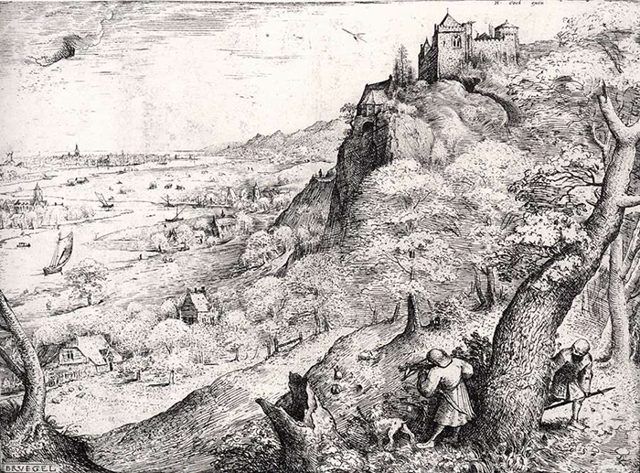 Картина «Битва Масленицы и Поста», Питер Брейгель Старший — описание