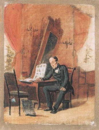 Сцена у железной дороги, Перов, 1868