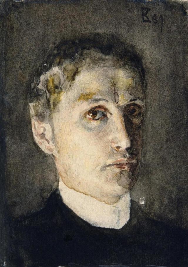 Муза, Михаил Врубель, 1896
