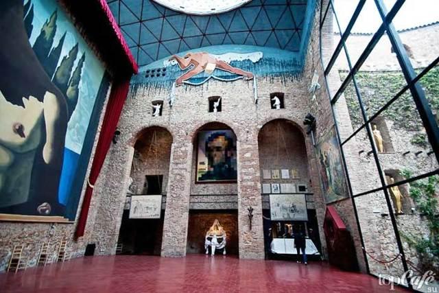 Музей Сальвадора Дали в Фигерасе, Испания