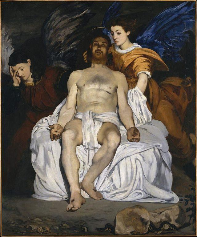 Картина «Олимпия», Эдуард Мане — описание