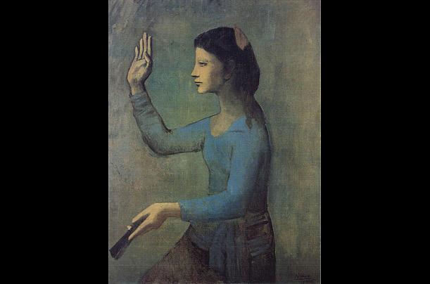 Голубая обнаженная, Анри Матисс - анализ картины