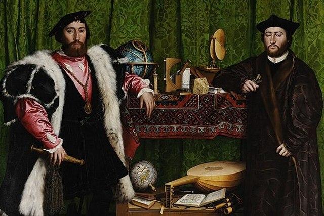 Портрет Томаса Мора, Ганс Гольбейн — описание