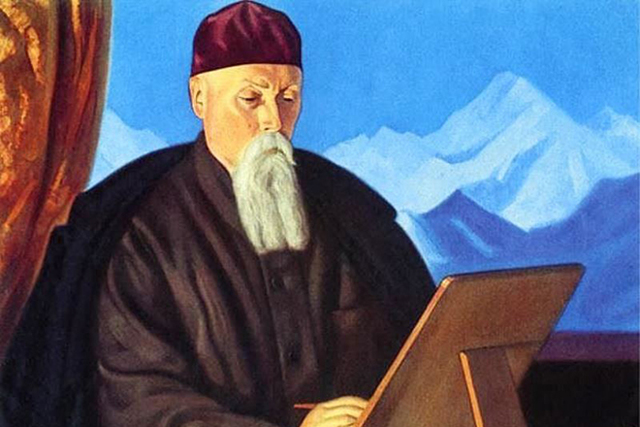«И мы трудимся», Николай Константинович Рерих — описание картины