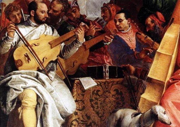 Благовещение, Паоло Веронезе - описание картины