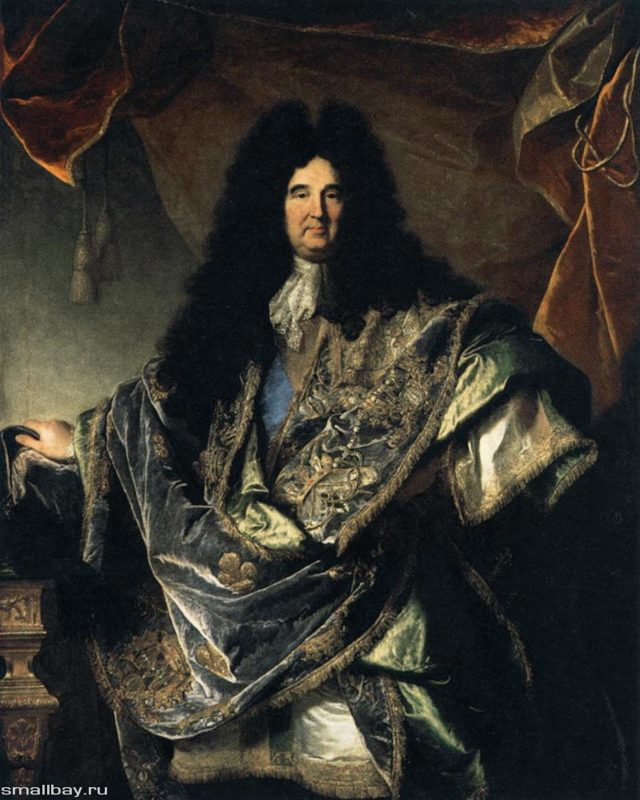 Портрет Людовика xiv, Гиацинт (Иасент) Риго, 1701