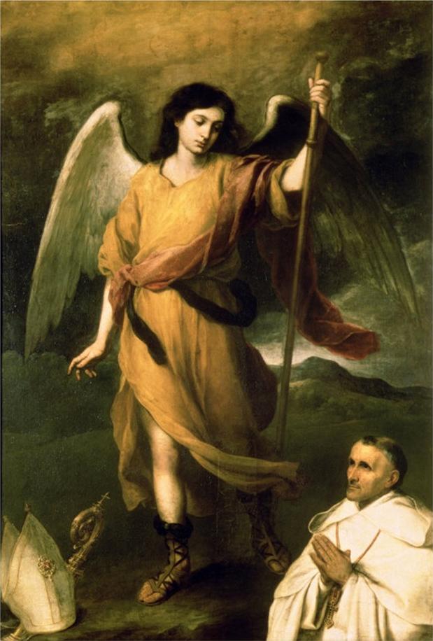 Мадонна с четками, Бартоломе Эстебан Мурильо - описание картины