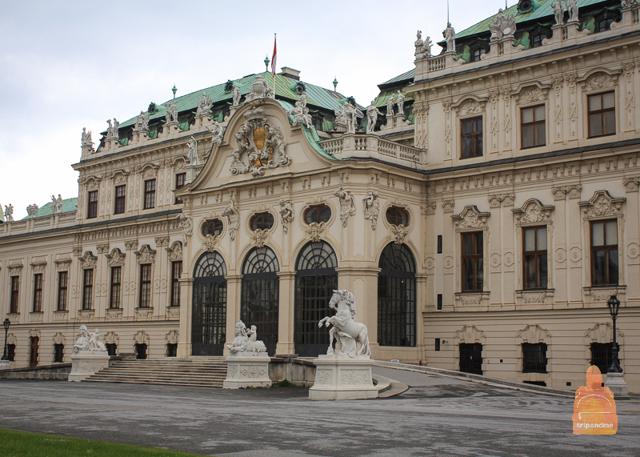Галерея Бельведер в Вене: фото, адрес, как добраться