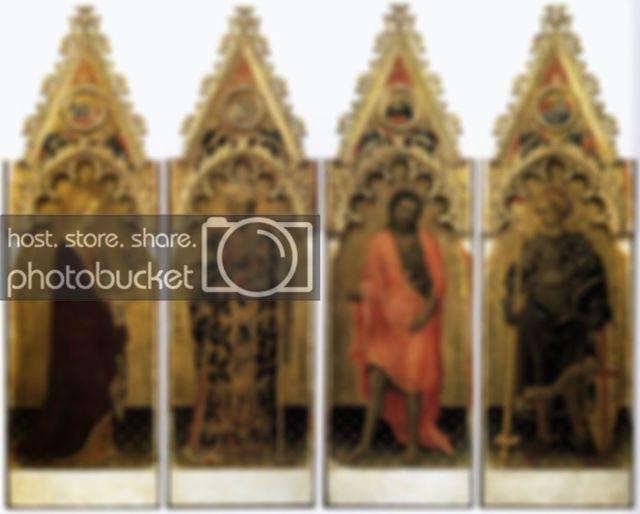 Поклонение волхвов, Джентиле да Фабриано, 1423