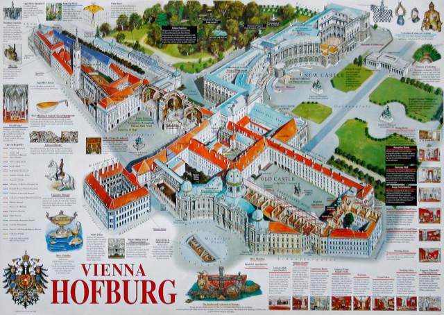 Дворец Хофбург, Вена: фото, адрес, карта