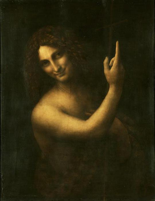 Святой Иоанн Креститель, Леонардо да Винчи - описание картины