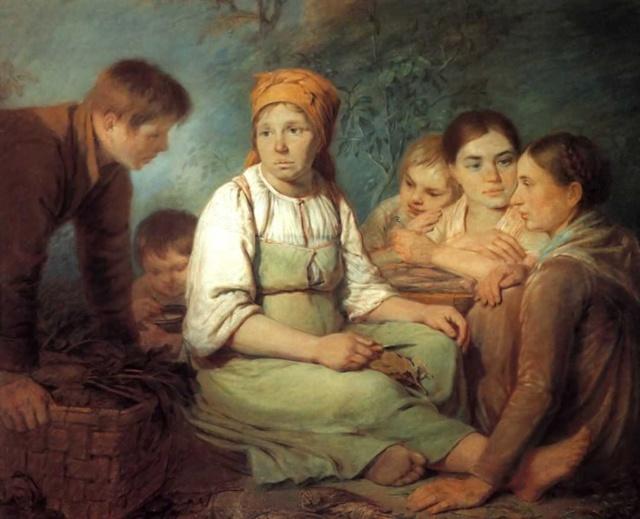 Алексей Гаврилович Венецианов, Картины и Биография