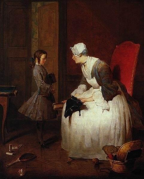 «Буфет», Жан Батист Симеон Шарден — описание картины