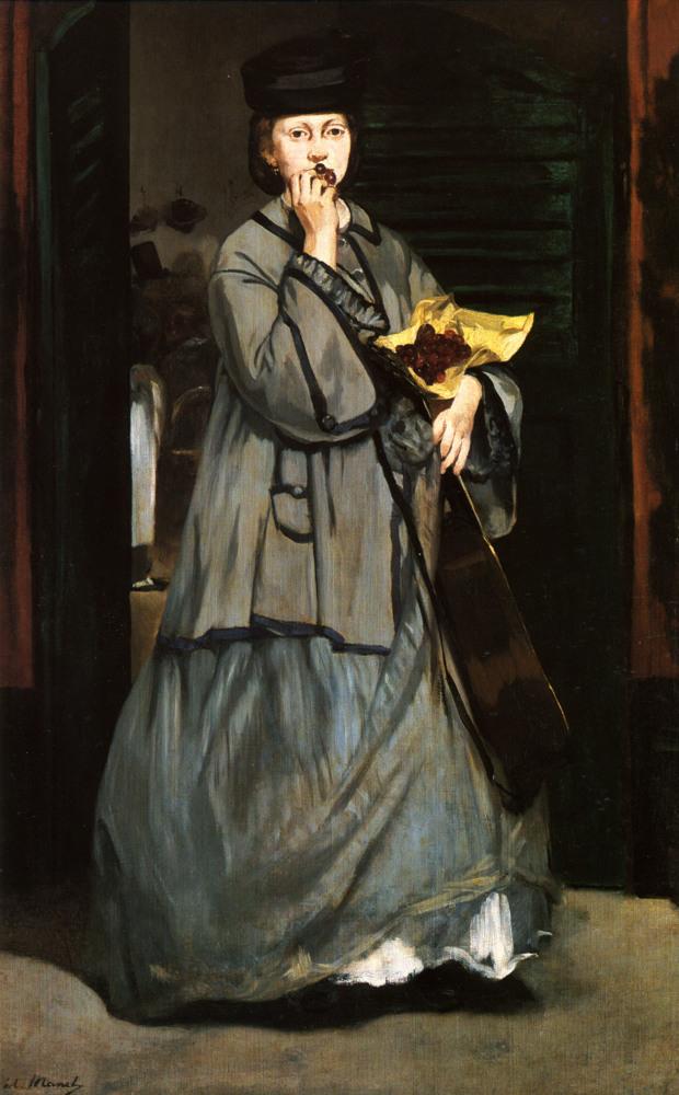 Молодой человек в костюме махо, Эдуард Мане, 1863