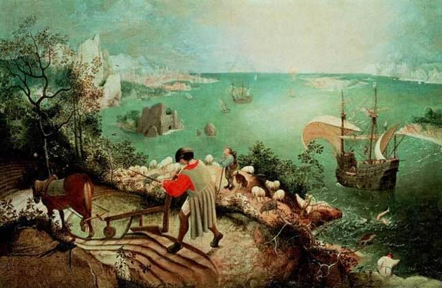 «Падение ангелов», Питер Брейгель Старший — описание картины