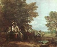 Рыночный воз, Томас Гейнсборо, 1786