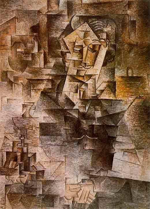 Портрет Пабло Пикассо, Хуан Грис — описание