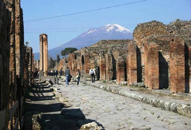 Древний город Помпеи, гибель и судьба города