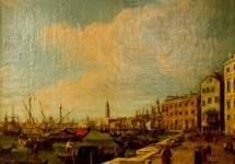 Вид на Дворец дожей в Венеции, Антонио Каналь (Каналетто)