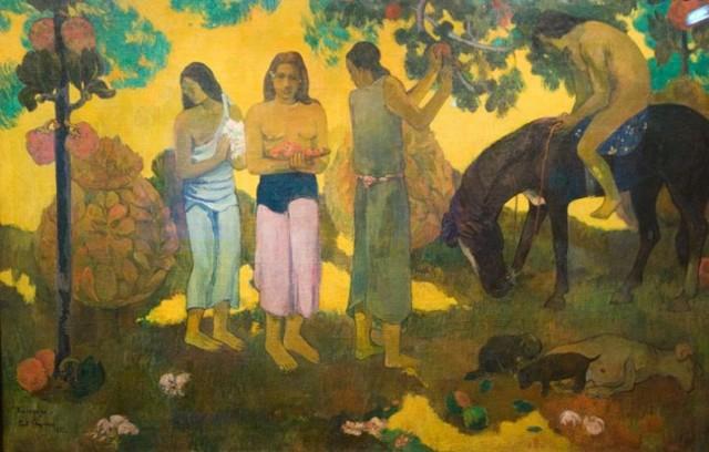 Когда же замуж, Поль Гоген - описание картины