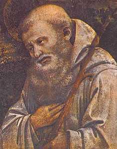 Видение святого Ромуальда, Андреа Сакки