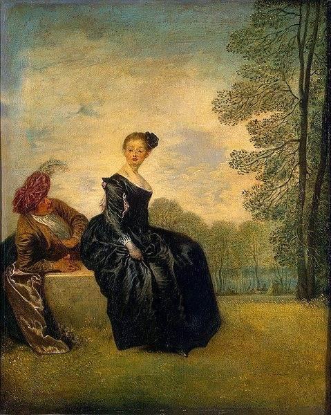 Антуан Ватто, биография и картины