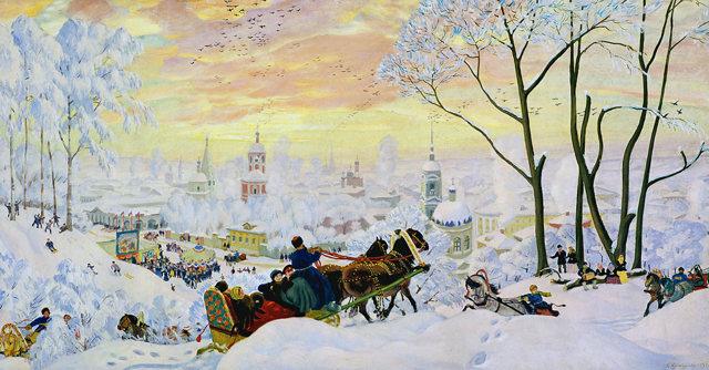 Описание картины Кустодиева