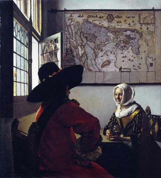 Картина Астроном, Ян Вермеер Дельфтский