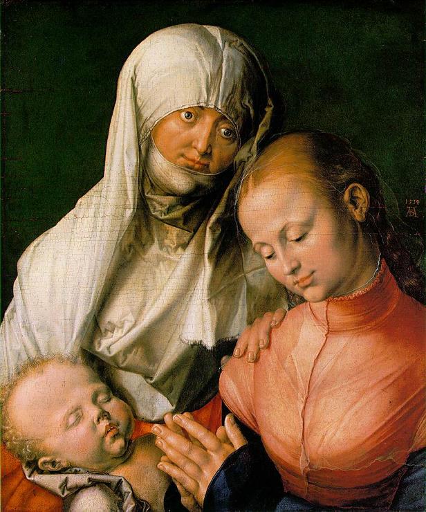 Богоматерь с Младенцем и святой Анной, Альбрехт Дюрер, 1519