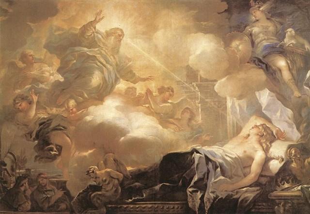 Распятие святого Петра, Лука Джордано