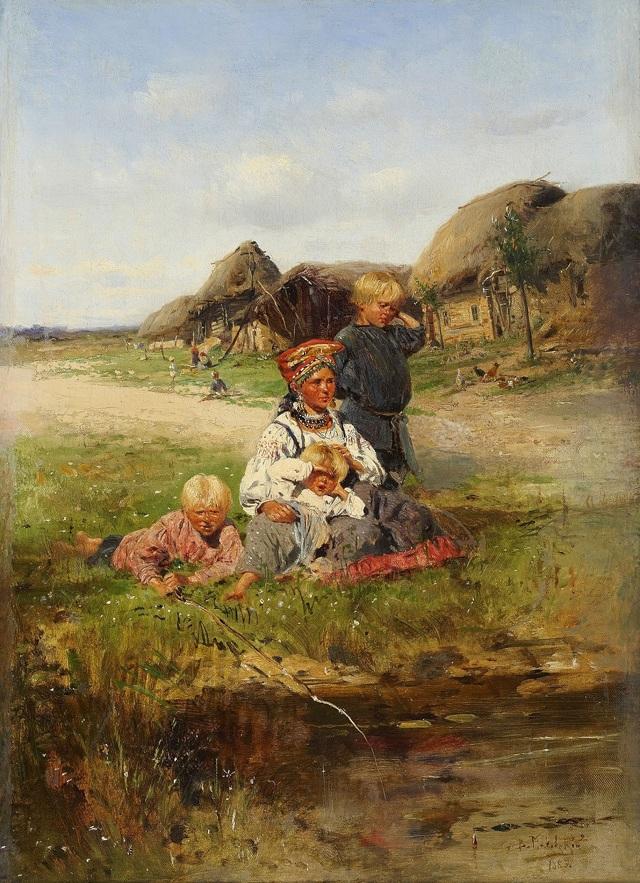 Маковский Владимир Егорович — биография и картины