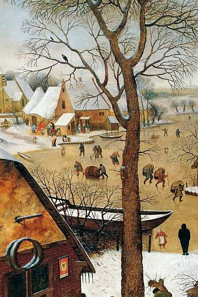 Вид порта, Пауль Бриль, около 1607