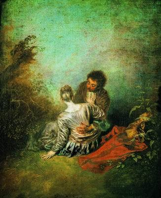 Радости бала, Антуана Ватто