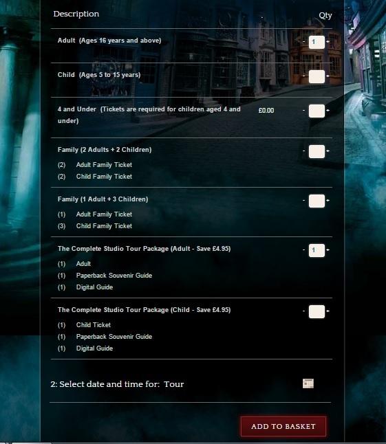 Музей Гарри Поттера в Лондоне, Англия