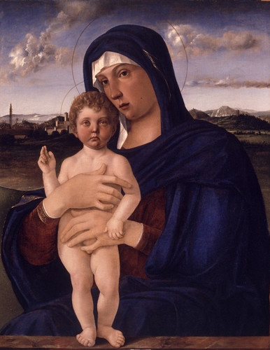 Мадонна со святыми - алтарь Сан-Джоббе, Джамбеллино