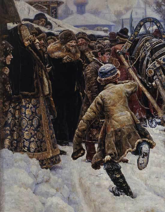 Картина «Боярыня Морозова», Суриков — Описание Картины и ВидеоОбзор