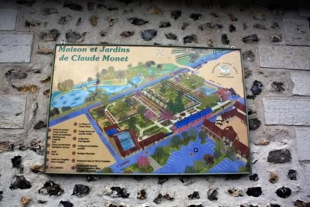 «Сад художника в Живерни», Клод Моне — описание картины