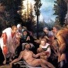 «Святое собеседование», Себастьяно дель Пьомбо — описание картины