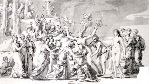 Парнас, Никола Пуссен, 1630-1631