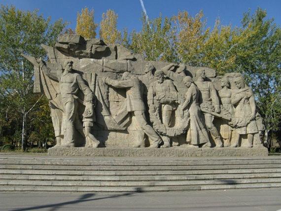 Скульптуры на Мамаевом кургане