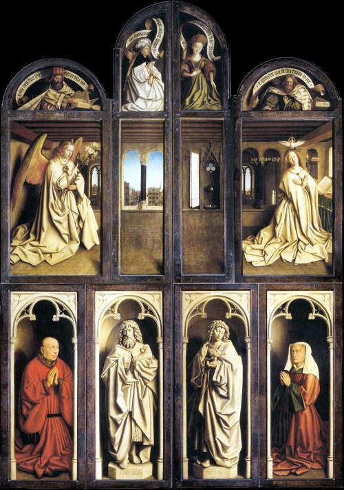 Поклонение агнцу, Ян ван Эйк, 1432