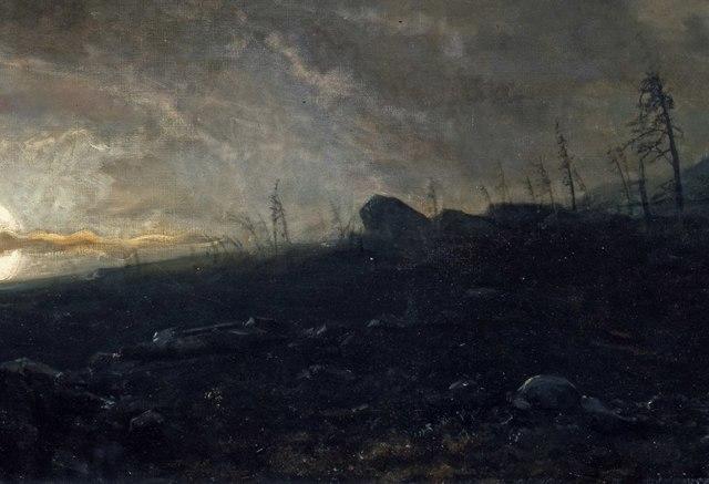 «Ингеборг», Арбо Петер Николай — описание картины