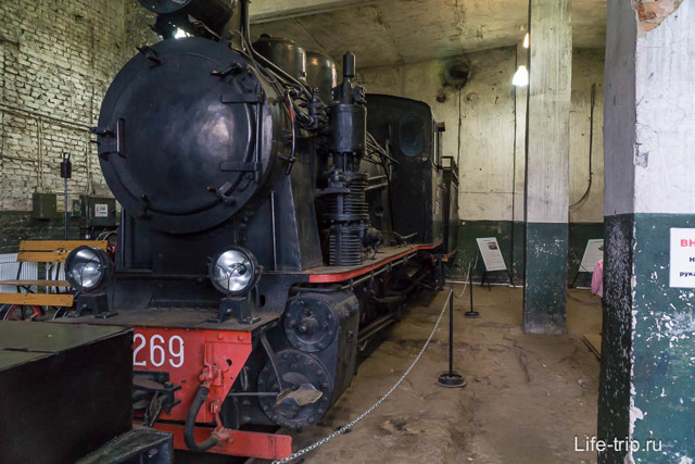 Музей паровозов в Переславле, Россия
