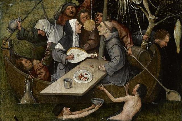 Смерть и скупой (Смерть скряги), Иероним Босх