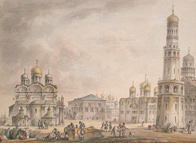 Успенский собор в Москве, Россия