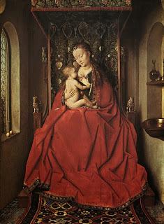 Явление ангела женам-мироносицам, Ян ван Эйк, 1425