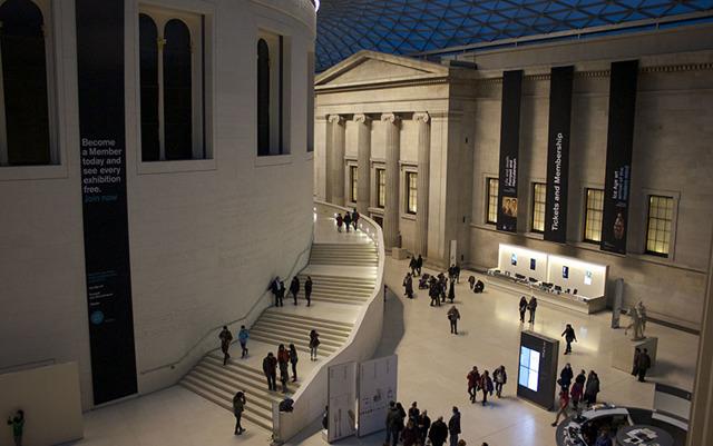 Британский музей - экспонаты, Лондон
