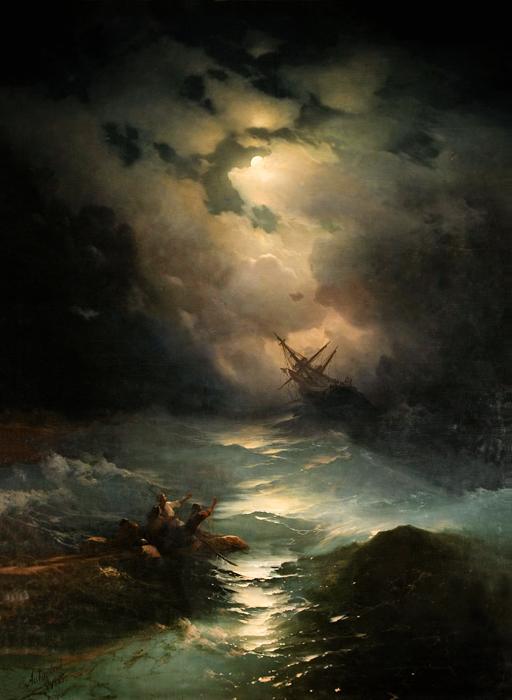 Море. Коктебель, Айвазовский, 1853